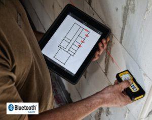 misuratore laser con bluetooth